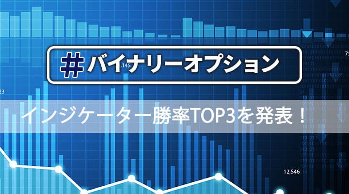 バイナリーオプションの無料インジケーター勝率ランキングTOP3を大公開!